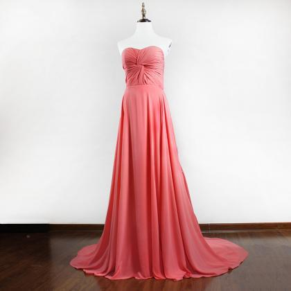 Charming long Chiffon Dress for Party/Prom/Evening