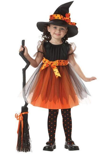 2017 Halloween Cos Children Dress