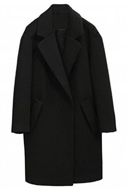 Women's woolen&Cashmere Coat Tailor-made lined