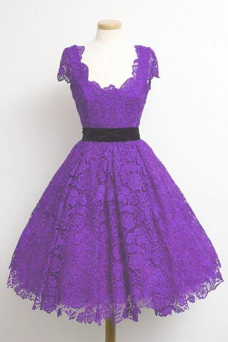 Charming Full Lace Homecoming Dress, Party Dress