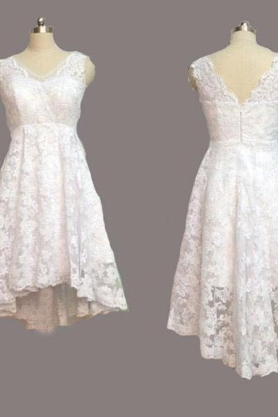 Full Lace Short Homecoming Dresses,Charming Lovely Party Dresses