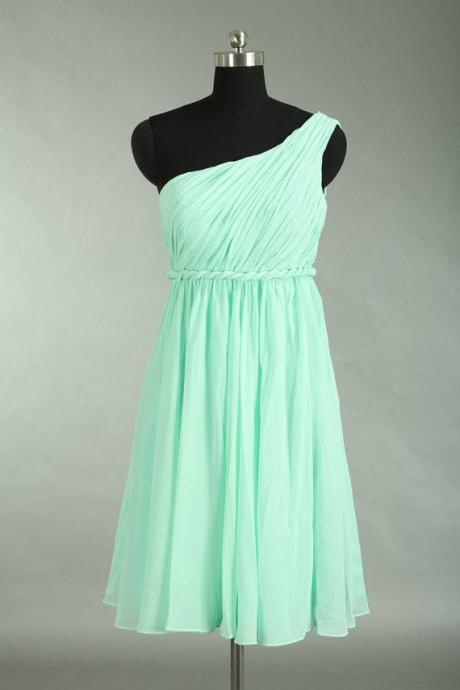 AF0701 Knee Length Chiffon Bridesmaid Dresses Wedding Dresses Short Party Dresses