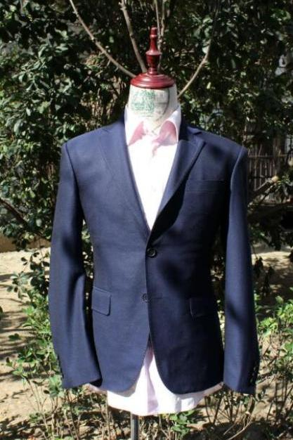 Full Canvas Men Suit Single Breasted